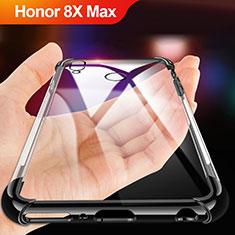 Coque Ultra Fine TPU Souple Transparente A02 pour Huawei Honor 8X Max Noir