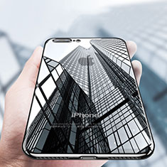 Coque Ultra Fine TPU Souple Transparente A14 pour Apple iPhone 7 Plus Noir