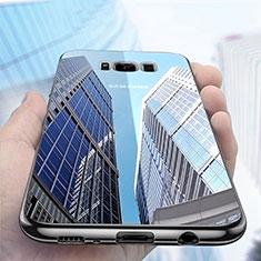Coque Ultra Fine TPU Souple Transparente H06 pour Samsung Galaxy S8 Noir