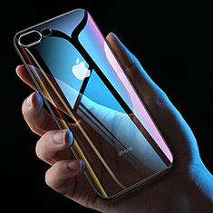 Coque Ultra Fine TPU Souple Transparente HC01 pour Apple iPhone 7 Plus Noir