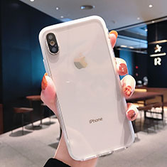 Coque Ultra Fine TPU Souple Transparente K01 pour Apple iPhone Xs Clair