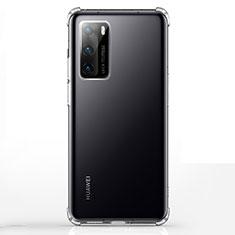 Coque Ultra Fine TPU Souple Transparente K02 pour Huawei P40 Clair