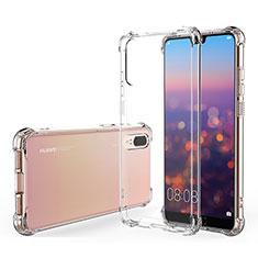 Coque Ultra Fine TPU Souple Transparente K03 pour Huawei P20 Clair