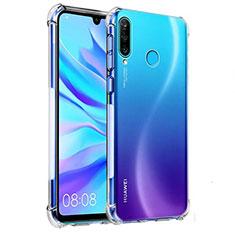 Coque Ultra Fine TPU Souple Transparente K03 pour Huawei P30 Lite Clair