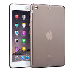 Coque Ultra Fine TPU Souple Transparente pour Apple iPad Mini 2 Gris