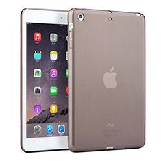Coque Ultra Fine TPU Souple Transparente pour Apple iPad Mini Gris