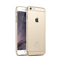 Coque Ultra Fine TPU Souple Transparente pour Apple iPhone 6 Or