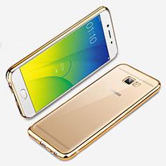 Coque Ultra Fine TPU Souple Transparente R01 pour Samsung Galaxy J7 Prime Or