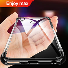 Coque Ultra Fine TPU Souple Transparente T02 pour Huawei Enjoy Max Noir