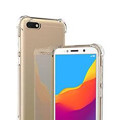 Coque Ultra Fine TPU Souple Transparente T02 pour Huawei Honor 7S Clair