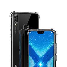 Coque Ultra Fine TPU Souple Transparente T02 pour Huawei Honor 8X Clair