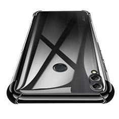 Coque Ultra Fine TPU Souple Transparente T02 pour Huawei Honor 8X Max Noir