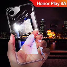 Coque Ultra Fine TPU Souple Transparente T02 pour Huawei Honor Play 8A Clair