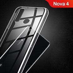 Coque Ultra Fine TPU Souple Transparente T02 pour Huawei Nova 4 Clair