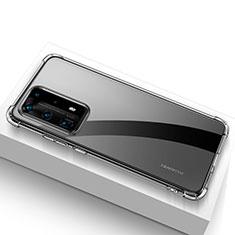 Coque Ultra Fine TPU Souple Transparente T02 pour Huawei P40 Pro+ Plus Clair