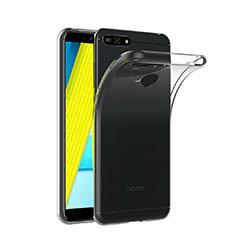 Coque Ultra Fine TPU Souple Transparente T02 pour Huawei Y6 (2018) Clair