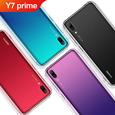 Coque Ultra Fine TPU Souple Transparente T02 pour Huawei Y7 Prime (2019) Clair