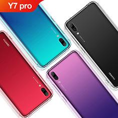 Coque Ultra Fine TPU Souple Transparente T02 pour Huawei Y7 Pro (2019) Clair