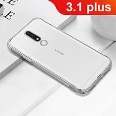 Coque Ultra Fine TPU Souple Transparente T02 pour Nokia 3.1 Plus Clair