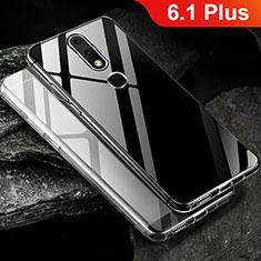 Coque Ultra Fine TPU Souple Transparente T02 pour Nokia 6.1 Plus Clair