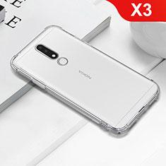 Coque Ultra Fine TPU Souple Transparente T02 pour Nokia X3 Clair