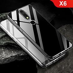 Coque Ultra Fine TPU Souple Transparente T02 pour Nokia X6 Clair