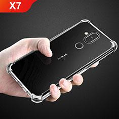 Coque Ultra Fine TPU Souple Transparente T02 pour Nokia X7 Clair