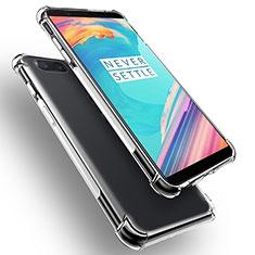 Coque Ultra Fine TPU Souple Transparente T02 pour OnePlus 5T A5010 Clair
