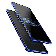 Coque Ultra Fine TPU Souple Transparente T02 pour OnePlus 6 Bleu