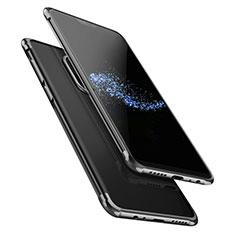Coque Ultra Fine TPU Souple Transparente T02 pour OnePlus 6 Noir