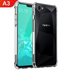 Coque Ultra Fine TPU Souple Transparente T02 pour Oppo A3 Clair
