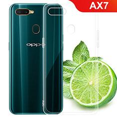 Coque Ultra Fine TPU Souple Transparente T02 pour Oppo AX7 Clair