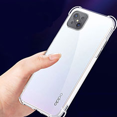 Coque Ultra Fine TPU Souple Transparente T02 pour Oppo Reno4 Z 5G Clair
