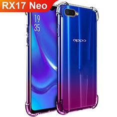 Coque Ultra Fine TPU Souple Transparente T02 pour Oppo RX17 Neo Clair