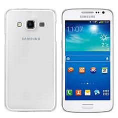 Coque Ultra Fine TPU Souple Transparente T02 pour Samsung Galaxy A3 SM-300F Clair