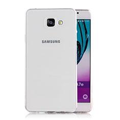 Coque Ultra Fine TPU Souple Transparente T02 pour Samsung Galaxy A5 (2016) SM-A510F Clair