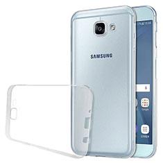 Coque Ultra Fine TPU Souple Transparente T02 pour Samsung Galaxy A8 (2016) A8100 A810F Clair