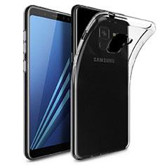 Coque Ultra Fine TPU Souple Transparente T02 pour Samsung Galaxy A8 (2018) Duos A530F Clair