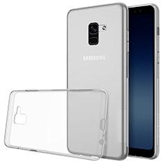 Coque Ultra Fine TPU Souple Transparente T02 pour Samsung Galaxy A8+ A8 Plus (2018) A730F Clair