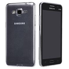 Coque Ultra Fine TPU Souple Transparente T02 pour Samsung Galaxy Grand Prime SM-G530H Clair