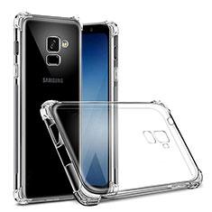 Coque Ultra Fine TPU Souple Transparente T02 pour Samsung Galaxy J6 (2018) J600F Clair