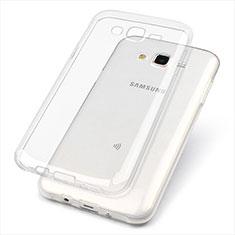 Coque Ultra Fine TPU Souple Transparente T02 pour Samsung Galaxy J7 SM-J700F J700H Clair