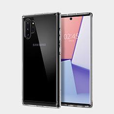 Coque Ultra Fine TPU Souple Transparente T02 pour Samsung Galaxy Note 10 Plus 5G Clair