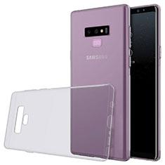 Coque Ultra Fine TPU Souple Transparente T02 pour Samsung Galaxy Note 9 Gris