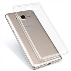 Coque Ultra Fine TPU Souple Transparente T02 pour Samsung Galaxy On7 G600FY Clair