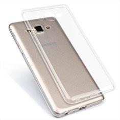 Coque Ultra Fine TPU Souple Transparente T02 pour Samsung Galaxy On7 Pro Clair
