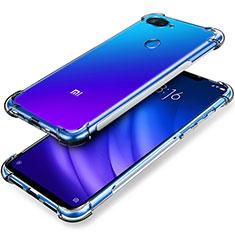 Coque Ultra Fine TPU Souple Transparente T02 pour Xiaomi Mi 8 Lite Clair