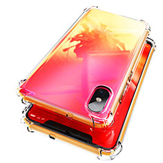 Coque Ultra Fine TPU Souple Transparente T02 pour Xiaomi Mi 8 Screen Fingerprint Edition Clair