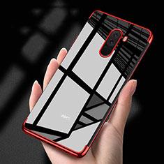 Coque Ultra Fine TPU Souple Transparente T02 pour Xiaomi Pocophone F1 Rouge