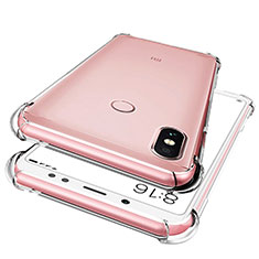 Coque Ultra Fine TPU Souple Transparente T02 pour Xiaomi Redmi Note 5 AI Dual Camera Clair